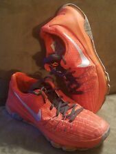 ef768f3cf64b Nike KD Zoom Orange Silver Size 6.5 Youth Athletic Basketball Shoes