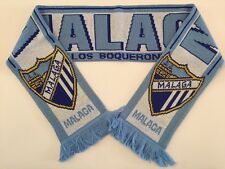 MALAGA Football Scarves New from Soft Luxury Acrylic Yarns