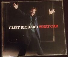 Cliff Richard What Car CD single In Very Good Condition 3 Tracks 2005