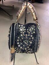 Handbag Republic  Purse Denim Embellished NWT W/ Crossbody Strap