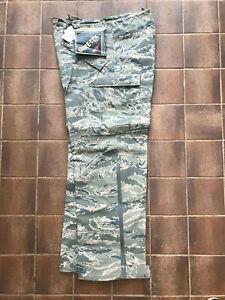 Genuine USAF US Airforce APECS ABU Camo Gortex Trousers, NEW Medium Short