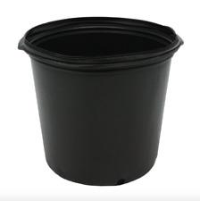 Plastic Nursery Pot 10 Pack Pots 5 Gallon Flower Vegetable Plant Garden Planter