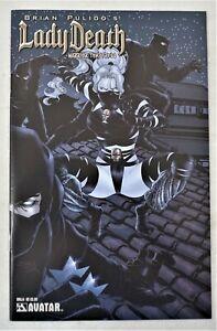 Lady Death Warrior Temptress #1E JAN 2007 Ninja Variant Avatar Press NM