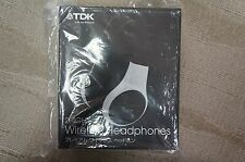 TDK JN-WH160 Bluetooth Over Ear Headphones - Japanese Import Premium Silver