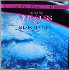 Johann Strauss (Sohn) - Musik aus Wien Vol. 2 Orchester Wiener Volksoper CD neu