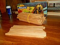 HO-S-O scale scratchbuilding/model material real birch wood 50ct.