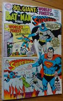 WORLD'S FINEST (BATMAN SUPERMAN) #179 80 PAGE GIANT VG/FN ADAMS COVER