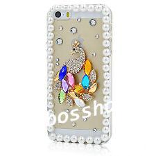 Glitter Luxury Bling Diamonds stones gems Soft TPU Gel back phone Case Cover I-1