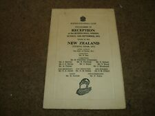More details for fully signed x 25 by new zealand rugby league tourists @ widnes september 1971