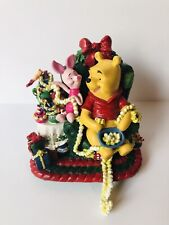 Disney Winnie The Pooh & Piglet Ceramic Christmas Stocking Hanger