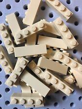 Lego 1x4 Tan Bricks Blocks 1 X 4 New Lot Of 24