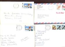 USA 1989,  4 Commercial Covers #C47965