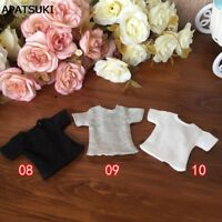 1pc 1/6 Doll's T-Shirt for Blythe Dolls Causal Clothes For Barbie Shirts Top 1:6
