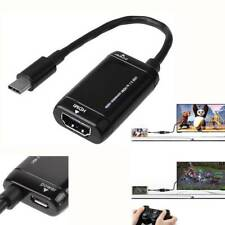 USB 3.1 TV Cable MHL Android Phone Tablet Type C to HDMI Adapter Converter