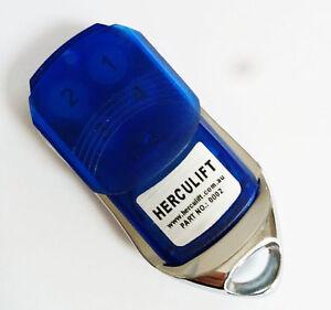 HERCULIFT Garage Door Remote Control Handset PART NO.: 0002 433.92mhz options