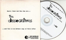 THE DISSOCIATIVES The Dissociatives 2004 UK 10-trk promo CD Silverchair