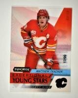 2020-21 UD Synergy Exceptional Young Stars Black #EY-19 Matthew Tkachuk /99
