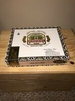 Arturo Fuente Double Chateau Natural Empty Wooden Cigar Box