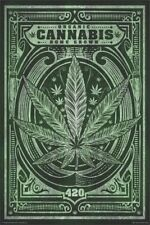 ORGANIC CANNABIS HOME GROWN ~ 24x36 ROLLED PAPER POSTER ~ Reefer Ganja 420 ~ NEW