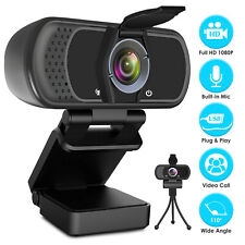1080P Pro Streaming HD Webcam for Video Calling, Conferencing, Recording, Gaming