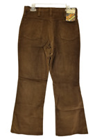 Wrangler Corduroy Pants Meet The Corduwroys Straight  FLARE Jean 32x30 Deadstock