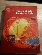 Tabellenbuch Elektrotechnik Tabellen Formeln Normenanwendung