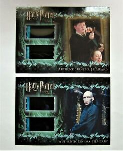 Harry Potter-Voldemort - Authentic Cinema-Film Cards, Both Numbered