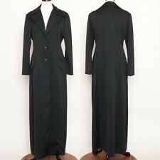 NWOT Vintage Mint Jack Bryan Black Full Length Maxi Opera Theatre Coat Size M
