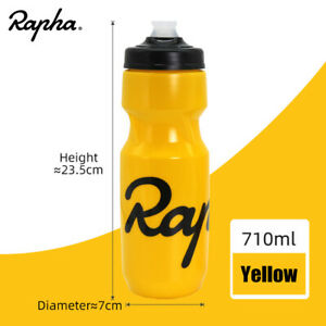 Rapha Cycling Water Bottle 620/710ml Plastic Camping Hiking Sports Water Bottle