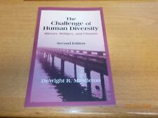 CHALLENGE OF HUMAN DIVERSITY: MIRRORS, BRIDGES, AND CHASMS (2ND By Dewight R. VG
