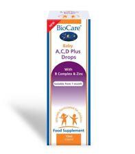 BioCare Baby A,C,D Plus Drops   with B Complex & Zinc, Supplement - 15 ml Liquid