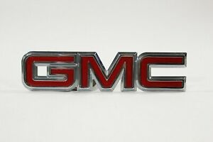 1998-2005 GMC OEM Canyon Envoy Jimmy Yukon Rear Trunk Tailgate Emblem Badge 7 in