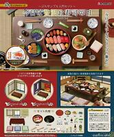 RE-MENT Petit sample today luxury sushi of the day introductory set Figure