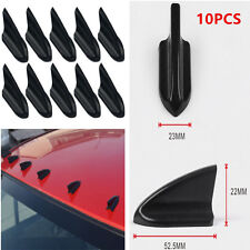 10X Car Auto AIR VORTEX GENERATOR/DIFFUSER FIN SETS FOR SPOILER ROOF WING TRUNK