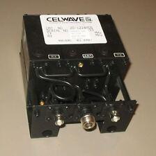 Celwave UHF Duplexer 910-960 9-24 MHz Split Tuned to 933.175/942.175 MHz