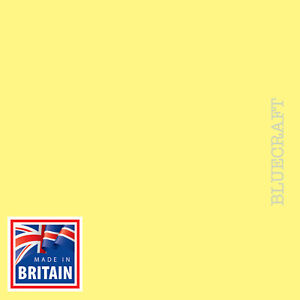 200 pack x A6 Lemon Yellow Blank Postcards 240gsm - No Print