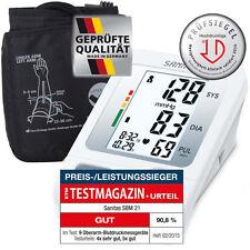 Blutdruckmessgerät Oberarm Sanitas, Testsieger, hochpräzise, sofort lieferbar