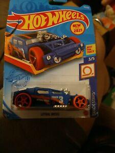 2021 - Hot Wheels NIP - Lethal Diesel (Blue) - Track Stars 3/5 - Buy 2, Get 2*