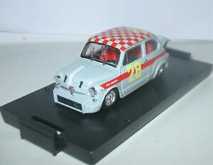 Fiat Abarth 1000 Berlina - Monza 4 Hours 1966 - Klaus Steinmetz - Brumm