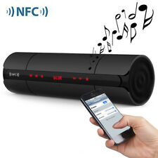 Digital Bluetooth Speaker Portable NFC Wireless LCD Screen FM Stereo Loudspeaker