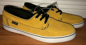 Converse Cons Sea Star LS OX Leather Vintage Shoes Gold Mens NWT