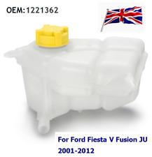 Engine Coolant Expansion Tank Reservoir +Cap For Ford Fiesta V Fusion JU 1221362
