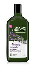 2 X Avalon Organics Nourishing Lavender Shampoo 325ml