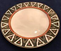 "PTS International Interiors PHOENIX Stoneware 12 1/2"" Chop Plate EUC"