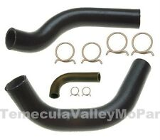Molded Radiator Hoses & OE-Style Clamps for 1957 DeSoto Hemi
