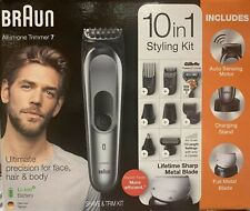 Braun All-in-One Trimmer 7 - Hair Clippers and Styling Kit - Fast Free Shipping