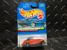 1999 Hot Wheels Treasure Hunt #929 Red Mercedes 540K w/5 Spoke Wheels