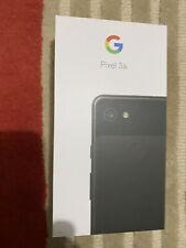 Google - Pixel 3a ( 64GB, Just Black, Unlocked) New Sealed