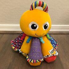 Musical OCTOTUN octopus BABY Toddler LAMAZE stuffed SQUEAK PLUSH development TOY