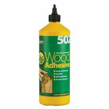 EVERBUILD 502 ALL PURPOSE WEATHERPROOF WOOD ADHESIVE GLUE 1 LTR INT OR EXTERNAL